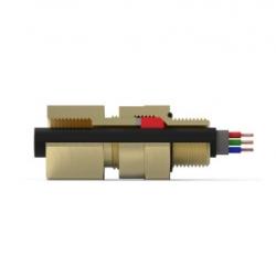 Кабельный ввод типа  А*LCF*F     (Одинарное уплотнение с возможностью крепления кабельпровода)