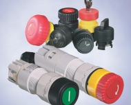 Командные кнопки / переключатели для монтажа в пульт, серия 8003