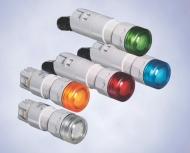 Диодные сигнализаторы  для встраивания в пульт,  серия 8013