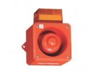 Искробезопасный комбинированный сигнал - 105 дБ (A) / светодиодный светильник Серия YL5IS