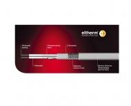 Нагревательный кабель параллельный резистивный ELP/Si-F до 200 °C