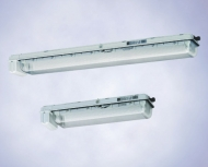 Аварийные светильники  для люминесцентных ламп  EXLUX 6008 (зона 1),  EXLUX 6408 (зоны 2, 21, 22)