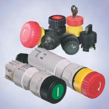 Командные и сигнальные приборы для монтажа в пульт с соединительным проводом или соединительными клеммами