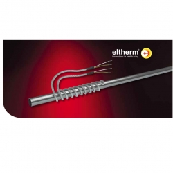 Нагревательный кабель устойчивый к высоким температурам ELK-HS до 450 °C
