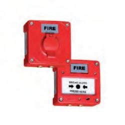 Ручной пожарный извещатель, взрывонепроницаемый Серия MCP