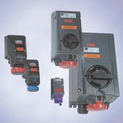 Штекерные устройства,  серия SolConeX 7570, 7571,  серия CES 7575, 7579, 7581