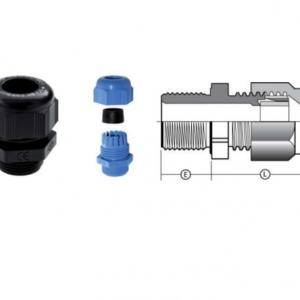 Кабельный ввод типа PF (Нейлоновый ввод с одинарным уплотнением)