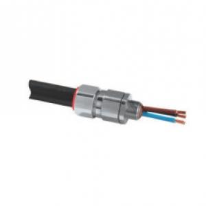 Кабельный ввод для все х типов армированных  кабелей (SWA, оплетк а, лента)  (сталь и алюминий) с барьерно й герметизацией компаундом Серия PX2K