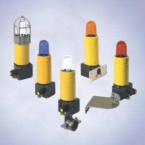 Светильники со вспышкой и  светильники непрерывного  света,  серия 6161
