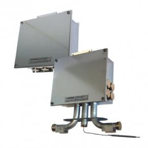 Электронный термостат  -  настенный монтаж  /  монтаж на трубе Серия  TEF 1058