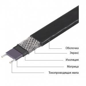 Саморегулирующийся кабель Freezstop до 85 °С