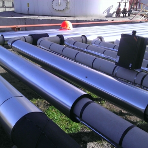 Как обогреть трубопровод с помощью системы  кабельного обогрева